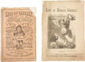 Political:Small Paper (pre-1896), Horace Greeley: Two Delightful Anti-Greeley Imprints.... (Total: 2Items)