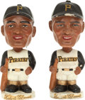 Baseball Collectibles:Others, Early 1960's Roberto Clemente Nodders Lot of 2....