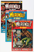 Bronze Age (1970-1979):Horror, Werewolf by Night #1-8 Group (Marvel, 1972) Condition: AverageFN/VF.... (Total: 8 Comic Books)