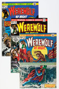 Bronze Age (1970-1979):Horror, Werewolf by Night #9-31, and 35 Group (Marvel, 1973-75) Condition:Average NM-.... (Total: 24 Comic Books)