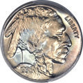 Proof Buffalo Nickels, 1936 5C Type Two -- Brilliant Finish PR66+ PCGS. CAC....