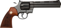 Elvis Presley Owned and Fired Colt Python Double Action Revolver with Colt Factory Letter and Joe Esposito COA