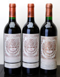 Chateau Pichon Baron 1989 Pauillac 1lbsl, different importers Bottle (3)