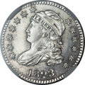 Bust Dimes, 1823/2 10C Large Es MS66+ ★ NGC. JR-3, R.2....