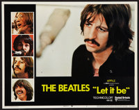 "Let It Be (United Artists, 1970). Lobby Card (11"" X 14""). Rock and Roll"