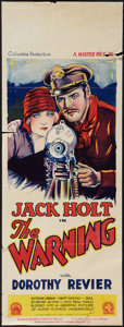 "Movie Posters:Adventure, The Warning (Columbia, 1927). Pre-War Australian Daybill (13"" X30""). Adventure.. ..."