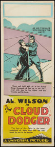 """Movie Posters:Comedy, The Cloud Dodger (Universal, 1928). Pre-War Australian Daybill (15"""" X 40""""). Comedy.. ..."""