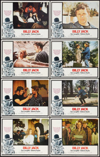 "Billy Jack (Warner Brothers, 1971). Lobby Card Set of 8 (11"" X 14""). Action. ... (Total: 8 Items)"