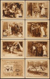 """Sonny and the Gypsy (Pioneer, 1925). Lobby Card Set of 8 (11"""" X 14""""). Comedy. ... (Total: 8 Items)"""