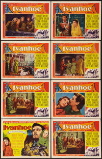 "Ivanhoe (MGM, 1952). Title Lobby Card and Lobby Cards (7) (11"" X 14""). Adventure. ... (Total: 8 Items)"