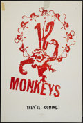 "Movie Posters:Science Fiction, Twelve Monkeys (Universal, 1995). One Sheet (27"" X 40"") DS Advance. Science Fiction.. ..."