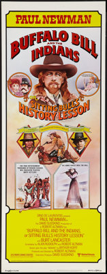 "Buffalo Bill and the Indians, or Sitting Bull's History Lesson (United Artists, 1976). Insert (14"" X 36""). Wes..."