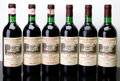 Red Bordeaux, Chateau de Marbuzet 1982 . St. Estephe. 3bn, 3wisl, 2lnc,4ssos. Bottle (6). ... (Total: 6 Btls. )