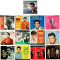 Music Memorabilia:Recordings, Elvis Presley EP Group of 13 (RCA - 1956-69).... (Total: 13 Items)