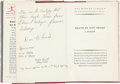 Music Memorabilia:Memorabilia, Elvis Presley Personally Owned Book, Circa 1953....