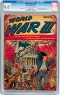Golden Age (1938-1955):Science Fiction, World War III #1 (Ace, 1953) CGC VG 4.0 Cream to off-whitepages....