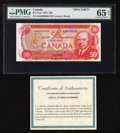 Canadian Currency: , BC-51aS $50 1975 Specimen. ...