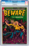Golden Age (1938-1955):Horror, Beware #13 (#1) (Trojan/Prime, 1953) CGC FN- 5.5 Cream to off-whitepages....