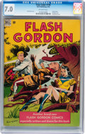 Golden Age (1938-1955):Miscellaneous, Four Color #190 Flash Gordon (Dell, 1948) CGC FN/VF 7.0 Off-whitepages....