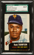 Baseball Cards:Autographs, 1953 Topps Hank Thompson #20 Signed Card JSA Authentic....