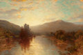 Fine Art - Painting, American, GEORGE HERBERT MCCORD (American, 1848-1909). MountainLandscape. Oil on canvas. 20 x 30 inches (50.8 x 76.2 cm).Signed ...