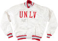 Basketball Collectibles:Others, Marcus Banks Signed UNLV Runnin' Rebels Signed Jacket....