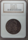 Bust Half Dollars: , 1812 50C VF30 NGC. O-108. NGC Census: (26/689). PCGS Population(48/777). Mintage: 1,628,059. Numismedia Wsl. Price for pr...
