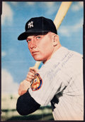 Baseball Collectibles:Photos, Mickey Mantle Signed Vintage Photograph - Early Signature!...