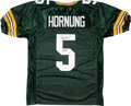 """Football Collectibles:Uniforms, Paul Hornung """"HOF 86"""" Signed Green Bay Packers Jersey...."""