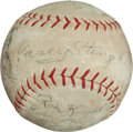 Baseball Collectibles:Balls, 1962 New York Mets Team Signed Baseball (24 Signatures) -Franchise's Inaugural Season! ...