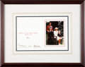 Autographs:Non-American, Prince Charles and Princess Diana Christmas Card Signed...