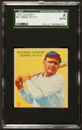 Baseball Cards:Singles (1930-1939), 1933 Goudey Babe Ruth #53 SGC Authentic. ...