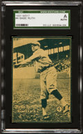 Baseball Cards:Singles (1930-1939), 1931 W517 Babe Ruth #4 SGC Authentic. ...