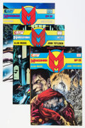 Modern Age (1980-Present):Superhero, Miracleman #14-16 Group (Eclipse, 1988-89) Condition: AverageNM-.... (Total: 3 Comic Books)
