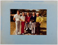 Autographs:Celebrities, Pat Abbott (1925-1984, American Professional Golfer). SignedPhotograph to Ted Gunderson, Former Head of the FBI in LosAngele...