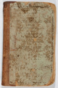 Books:Children's Books, Lyman Cobb. New Juvenile Reader. Robinson, Wright, 1844.Later edition. Lacking endpapers. Notations. Staining a...