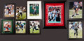 Football Collectibles:Photos, Brian Bosworth and others Signed Photographs Lot of 8....