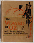 Books:Children's Books, L. Frank Baum. The [New] Wizard of Oz. Donohue, 1903. Lateredition. Lacking ffep. Hinges broken. Color plates. ...