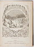 Books:Periodicals, Punch. Vol. 31. Bound volume of July to December, 1855.First edition, first printing. Foxing and toning. Very good....
