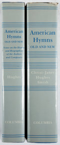 Books:Americana & American History, Albert Christ-Janer, Charles W. Hughes and Carleton Sprague Smith.American Hymns Old and New. Columbia Press, 1... (Total: 2Items)