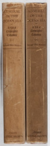 Books:Americana & American History, Samuel Eliot Morison. Admiral of the Ocean Sea. A Life ofChristopher Columbus. Little, Brown & Co., 1942. Two v...(Total: 2 Items)