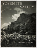 Books:Photography, Ansel Adams. Yosemite Valley. Five Associates, 1959. Pictorial wrappers. Moderate wear and soiling to wrappers. ...