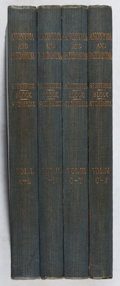 Books:Reference & Bibliography, Andrew Block, et al. Anonyma and Pseudonyma. Vol. I-IV.Stonehill, 1927. Second edition. Toning and offsetting. ... (Total:4 Items)
