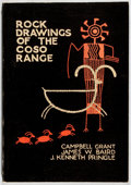 Books:Art & Architecture, Campbell Grant, et al. SIGNED. Rock Drawings of the Coso Range. Maturango Museum, 1968. Signed by Grant. Pictori...