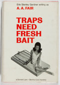 Books:Mystery & Detective Fiction, [Erle Stanley Gardner]. A. A. Fair. Traps Need Fresh Bait.William Morrow, 1967. First edition. Light toning, rubbin...