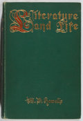 Books:Non-fiction, W. D. Howells. Literature and Life. Harper & Brothers, 1902. First edition. Illustrated. Some wear, foxing. Very goo...