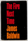 Books:Biography & Memoir, James Baldwin. The Fire Next Time. Dial Press, 1963. First edition. Wear, tear and rubbing to jacket and edges. Fron...