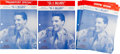 Music Memorabilia:Sheet Music, Elvis Presley G. I Blues Vintage Sheet Music Collection ofSix (1960). ... (Total: 6 Items)