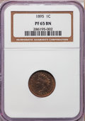 Proof Indian Cents: , 1895 1C PR65 Brown NGC. NGC Census: (42/16). PCGS Population(11/2). Mintage: 2,062. Numismedia Wsl. Price for problem free...