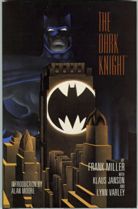 Batman: The Dark Knight Returns Signed Limited Edition Hardcover (DC, 1986) Condition: NM